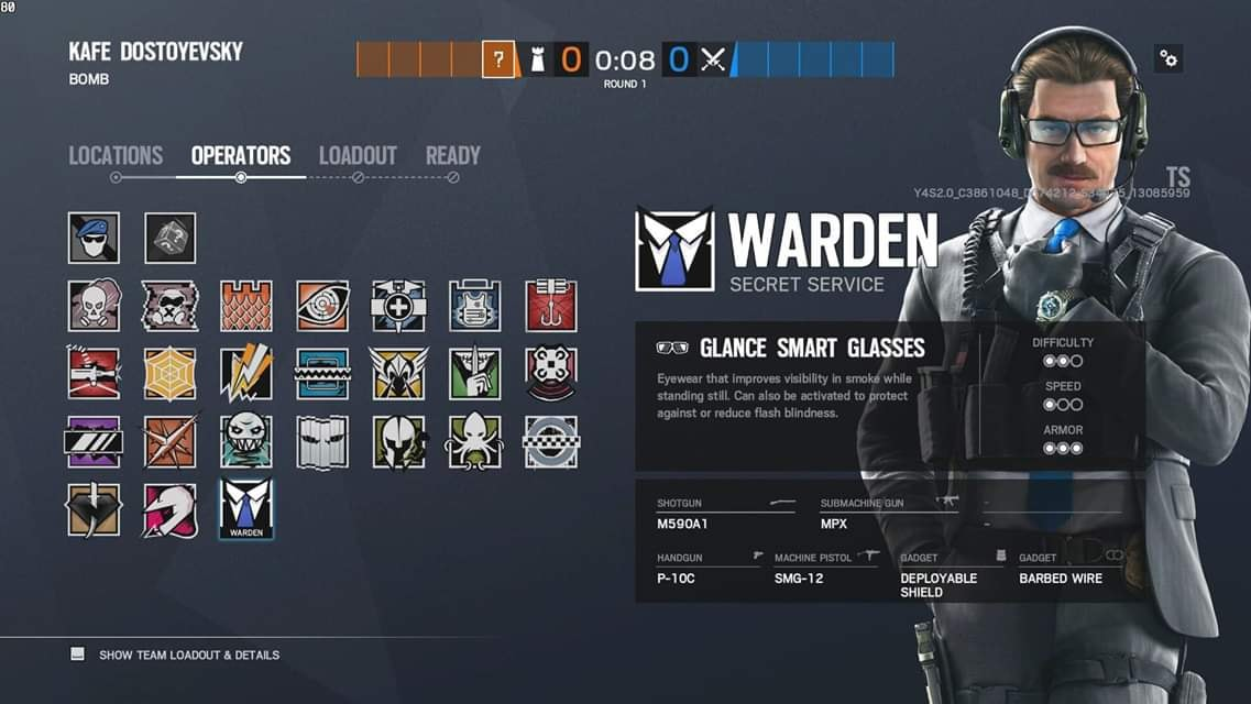 Rainbow Six Siege 'Nøkk' And 'Warden' Gadgets And Loadout Leaked