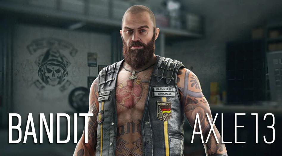 Bandit Axle 13