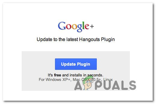 How to Fix Google Hangouts Camera not Working - Appuals com