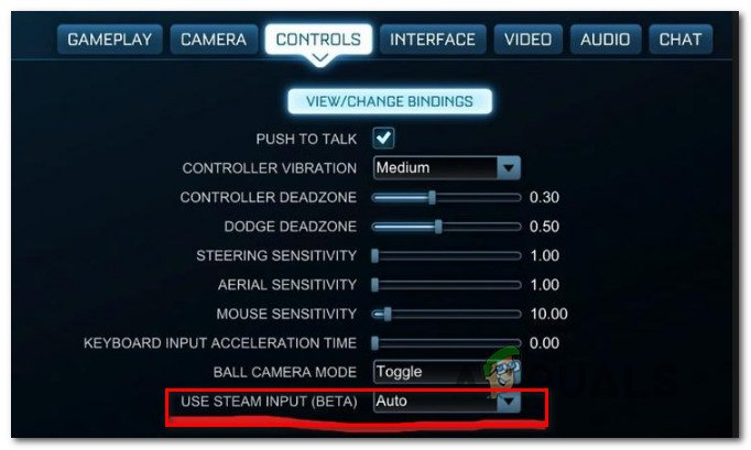 How to Fix Rocket League not Recognizing Controller