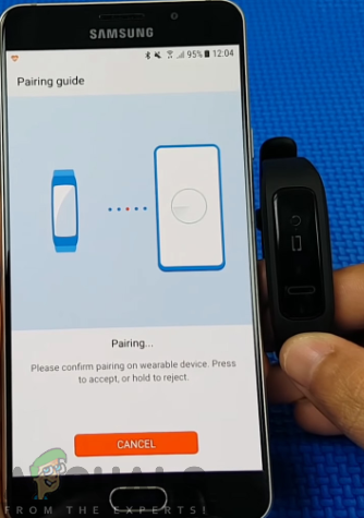 How to Connect No 1 F1 Smart Band with Mobile app - Appuals com