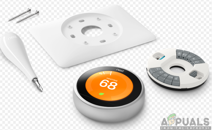 Installation of Nest Thermostat
