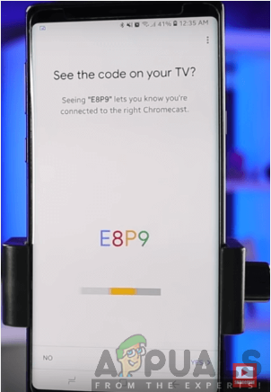 Pairing your Phone with the TV