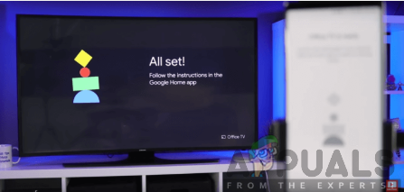 Successful linking of Google Home to the TV using Chromecast