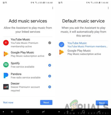 Adding Music Services