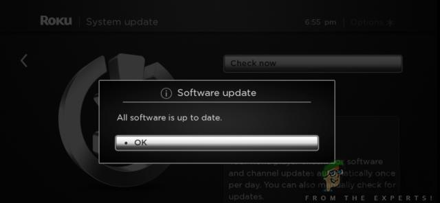 Software update notification