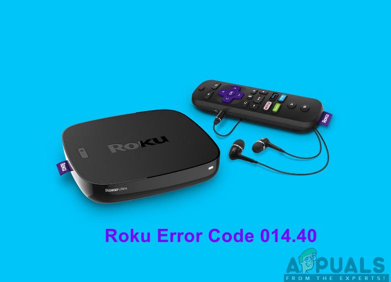 Roku Error Code 014.40