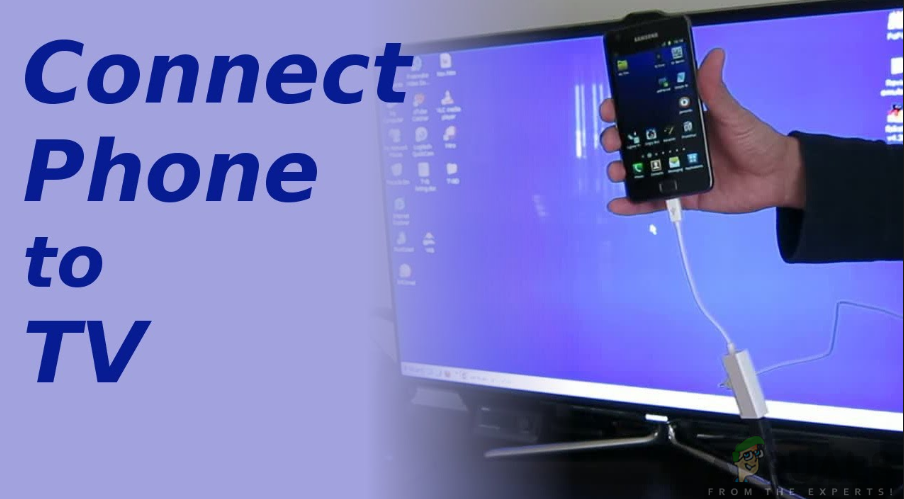 Connecting a Phone to a Smart TV