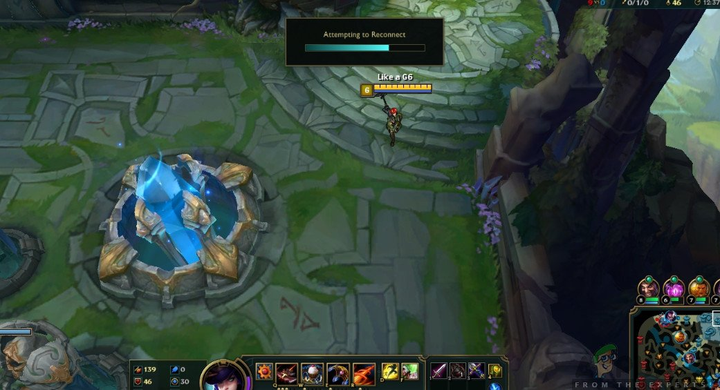 High Ping in League of Legends