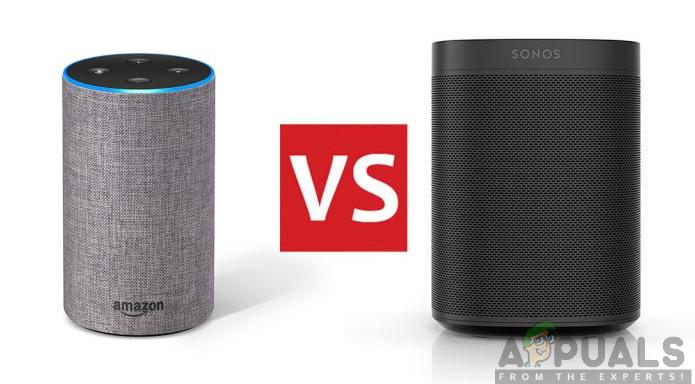 Amazon Echo Vs Sonos One