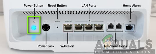 Power Cycling your Router