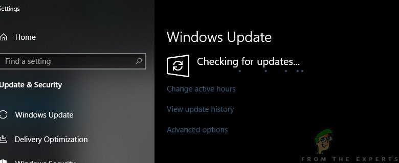 Checking for Windows Updates