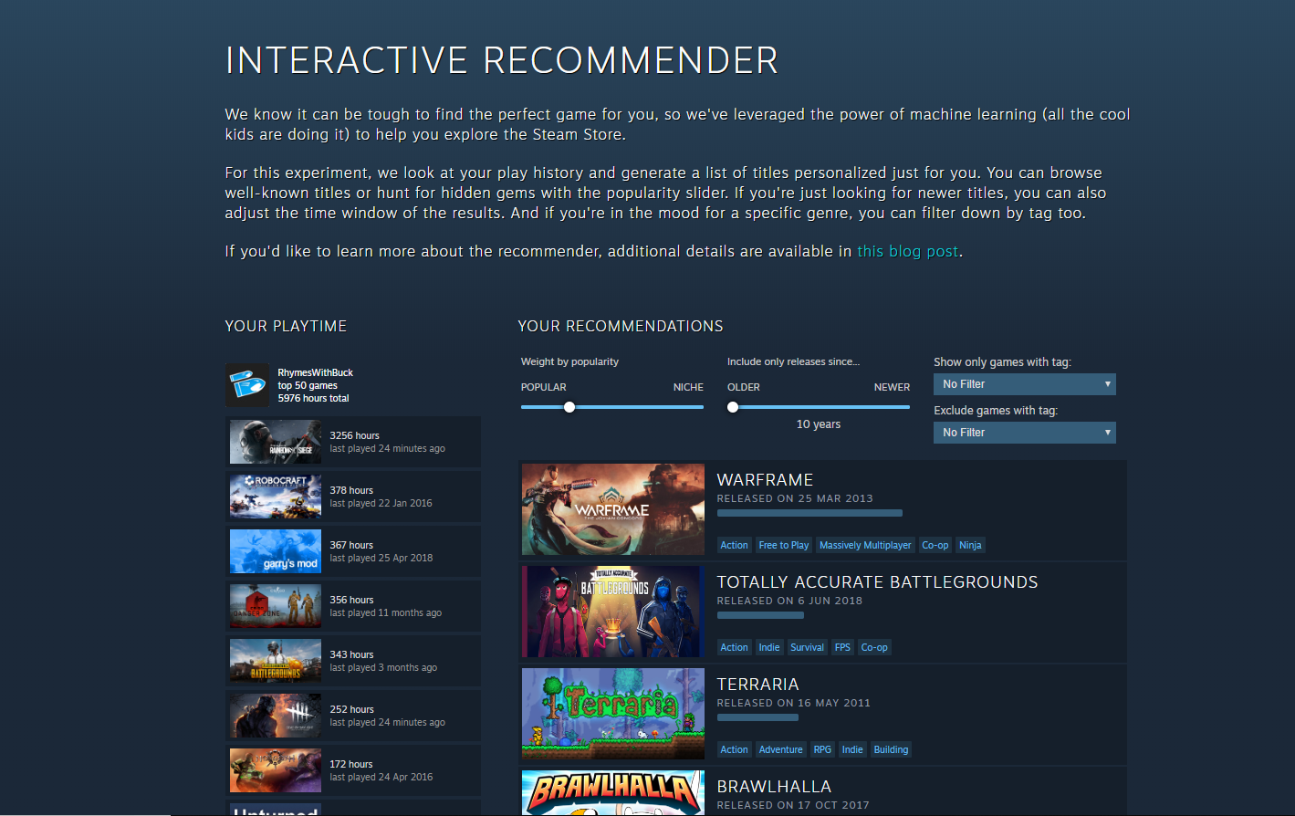 Interactive Recommender