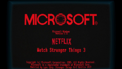 Photo of Microsoft Partners with Stranger Things: Windows 1.11 Released under a Stranger Things Season 3 Vibe