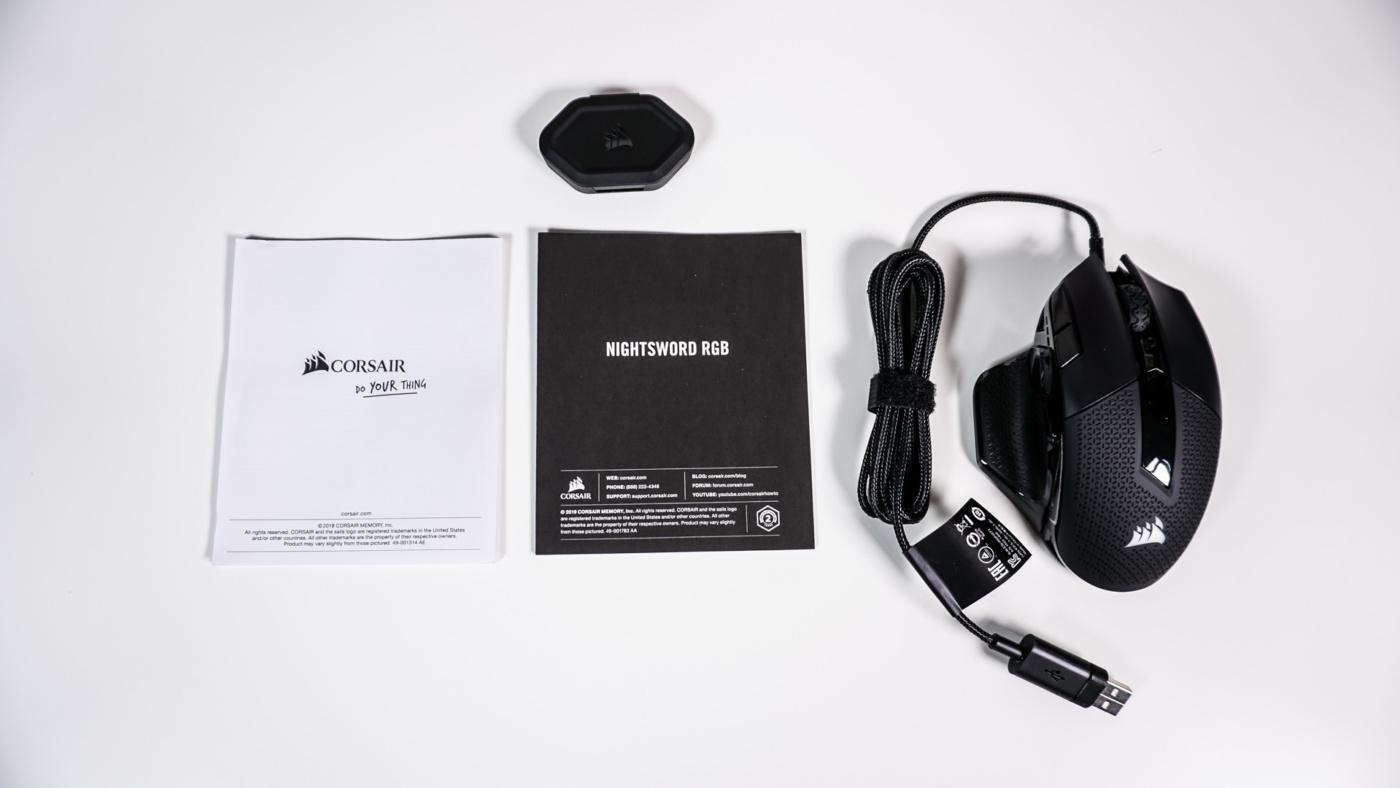 Corsair Nightsword RGB FPS/MOBA Gaming Mouse Review - Appuals com