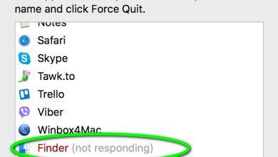 Finder not Responding - Mac OS