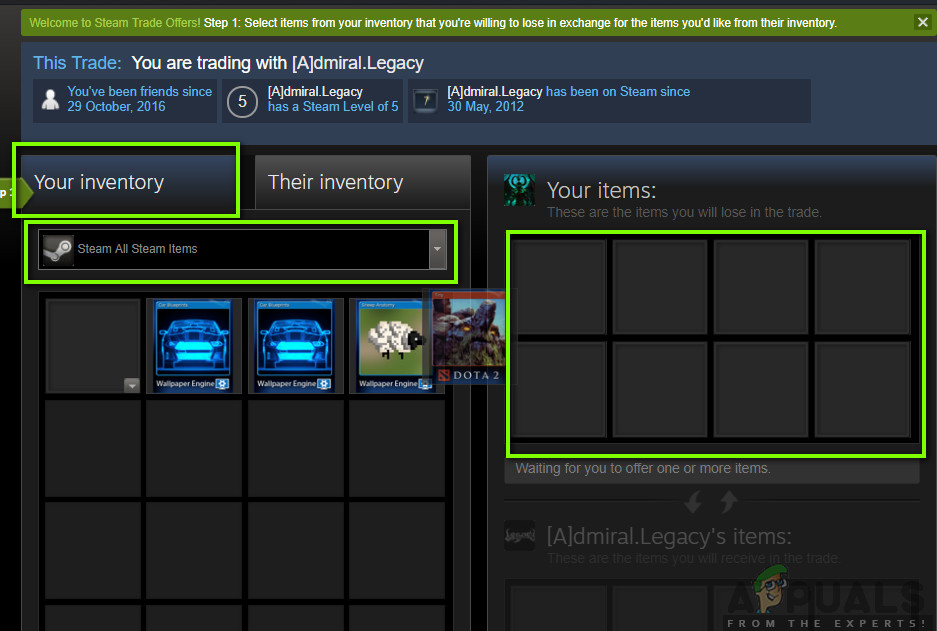 Trading Steam Games