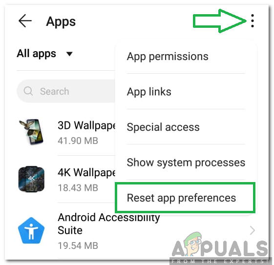 How To Fix No App Found To Open Url Error On Android Appuals Com