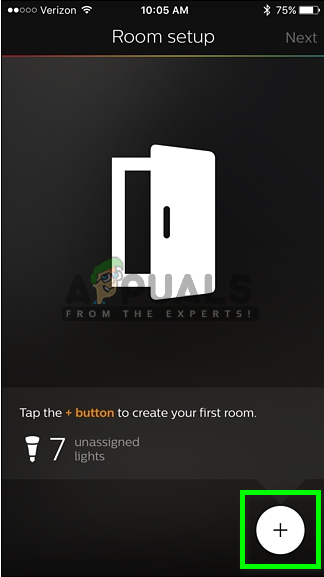 Creating rooms for your light bulbs
