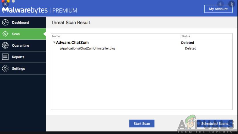 Nach Malware suchen