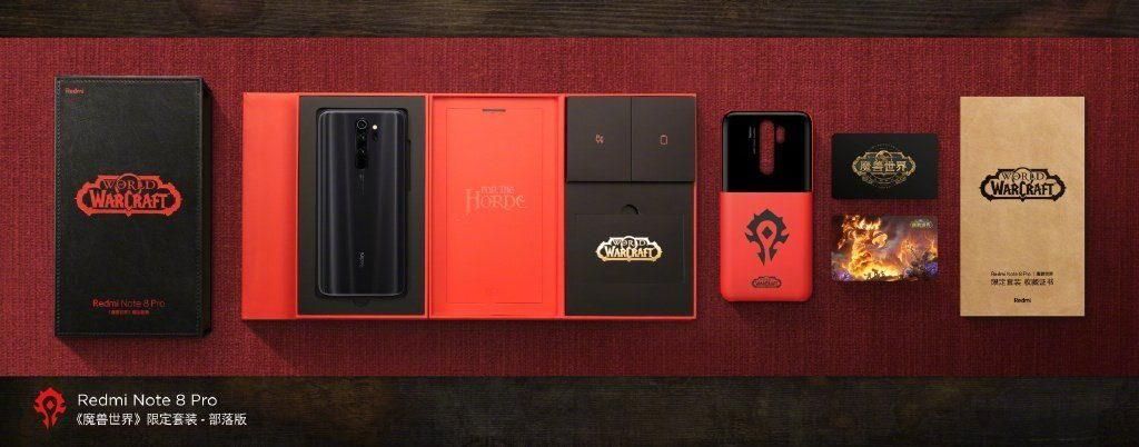 Redmi Note 8 Pro Warcraft Limited Edition Goes Official With