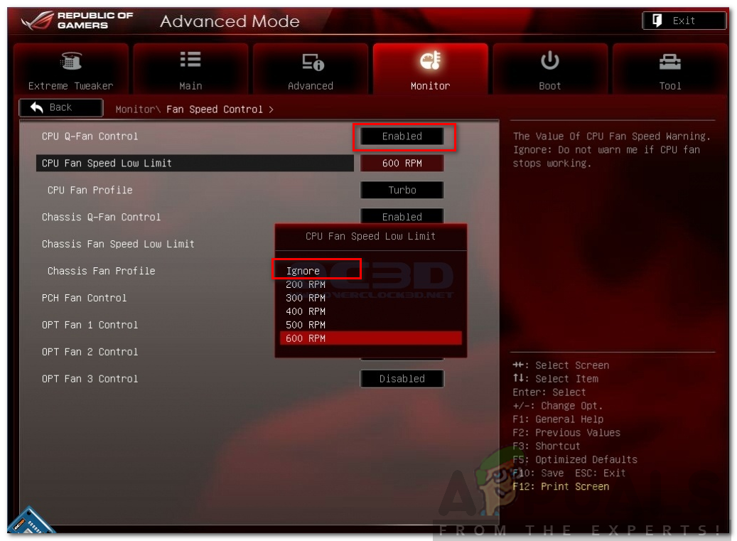 How to Fix CPU Fan Error on BIOS - Appuals com