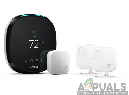 Ecobee4 with room sensors