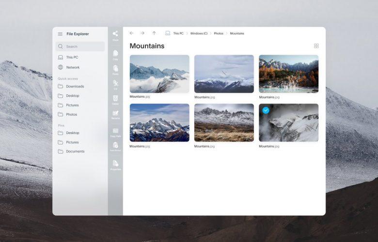 Windows 10 File Explorer