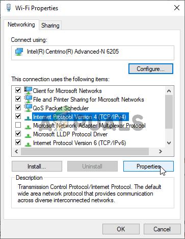 Setting a Static IP Address
