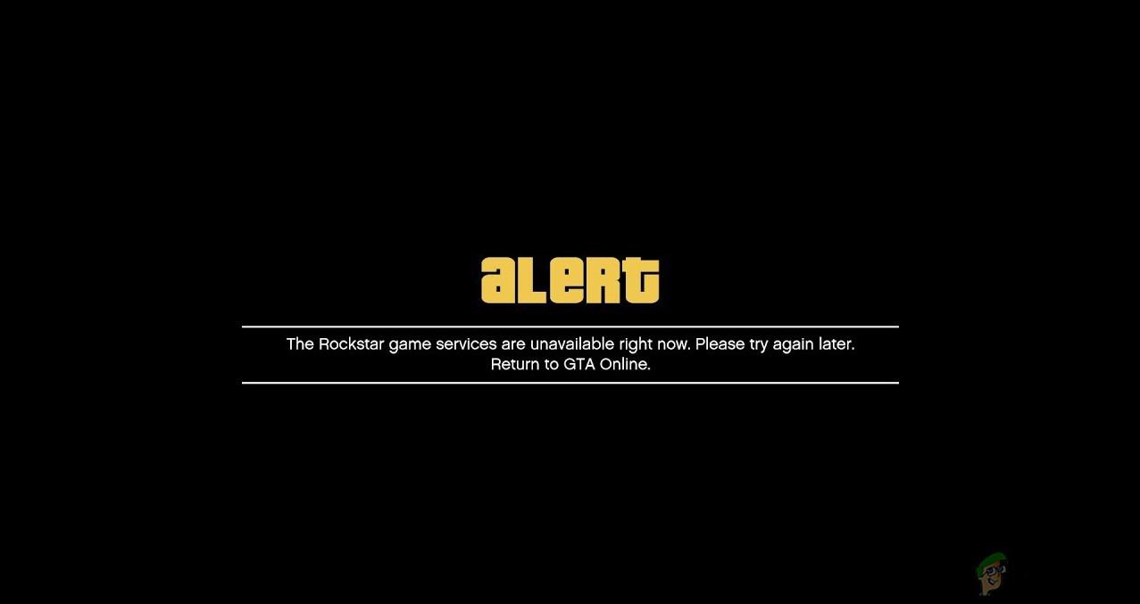 Rockstar Game Services Error