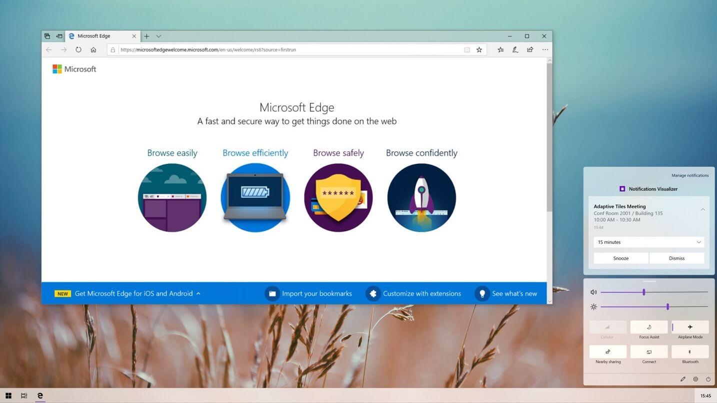 Windows 10X Settings