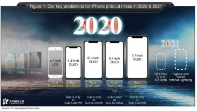 Photo of Kuo's Report Suggests 5 New iPhones: The iPhone SE 2 & 4 OLED Supporting Flagships