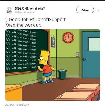 Sng.One Mocking Ubisoft