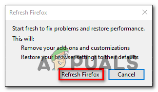 Pr_end_of_file_error firefox