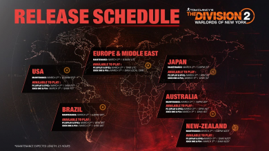 Photo of The Division 2 Warlords of New York Release Times And Update Size Revealed