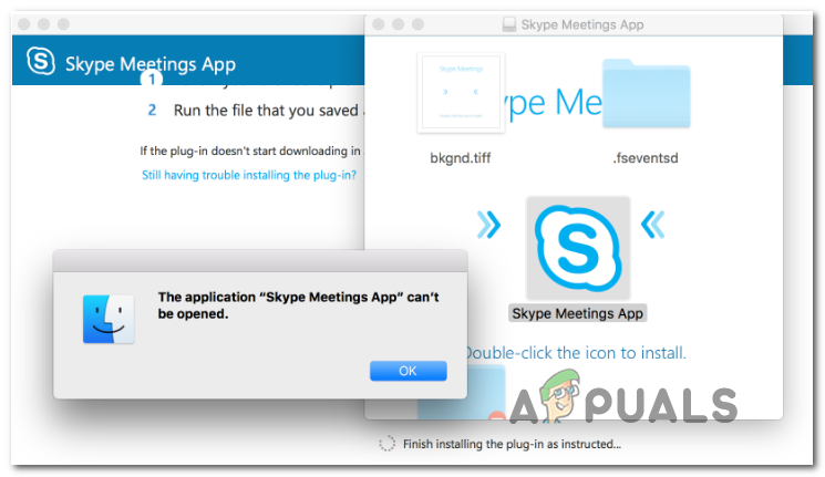 Skype not updating meeting status