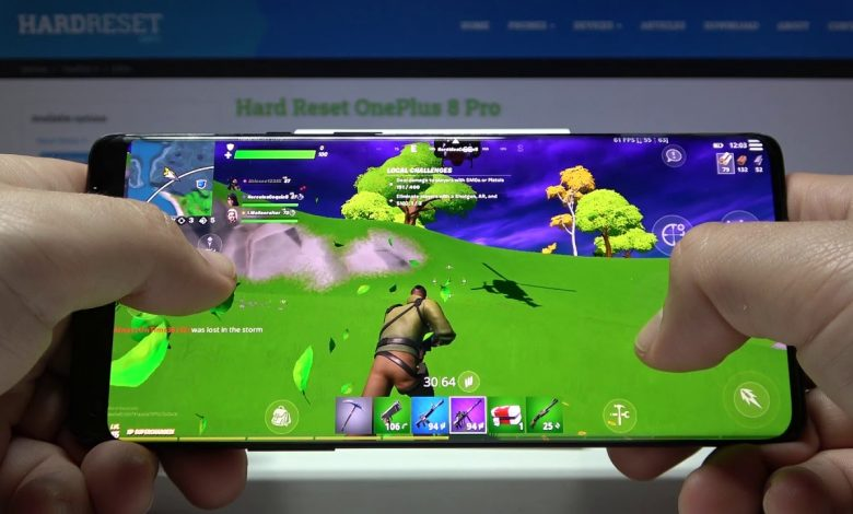 Photo of In a First For Android Fortnite for OnePlus 8 Series Devices To Support 90Hz GamePlay