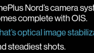 Photo of OnePlus Nord To Have Optical Image Stabilization For Back Cameras