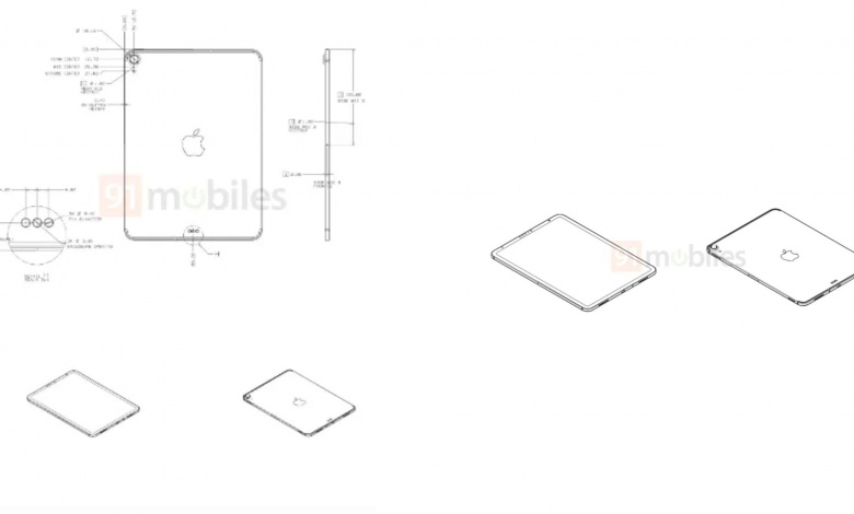 "Photo of Leaks iPad 10.8-inch Schematic Claims iPad Pro-like Design, Thinner Bezels and ""Maybe"" Face-ID"