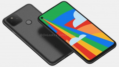 Photo of Google Pixel 5 Renders Show A Capacitive Fingerprint Reader, a Big Notch-less Display