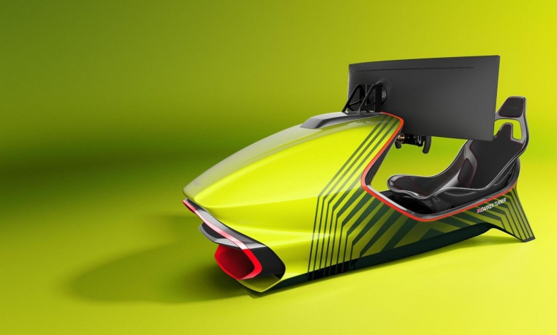 Photo of Aston Martin Announces New Racing Simulator AMR-C01 For £57,500