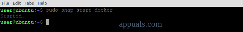 Start Docker