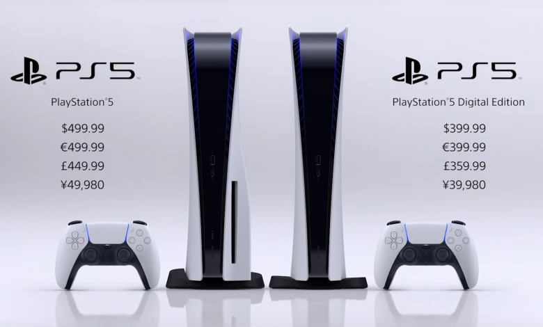 Photo of PlayStation 5 Price Announced, Disc Edition $499 and Digital Edition $399