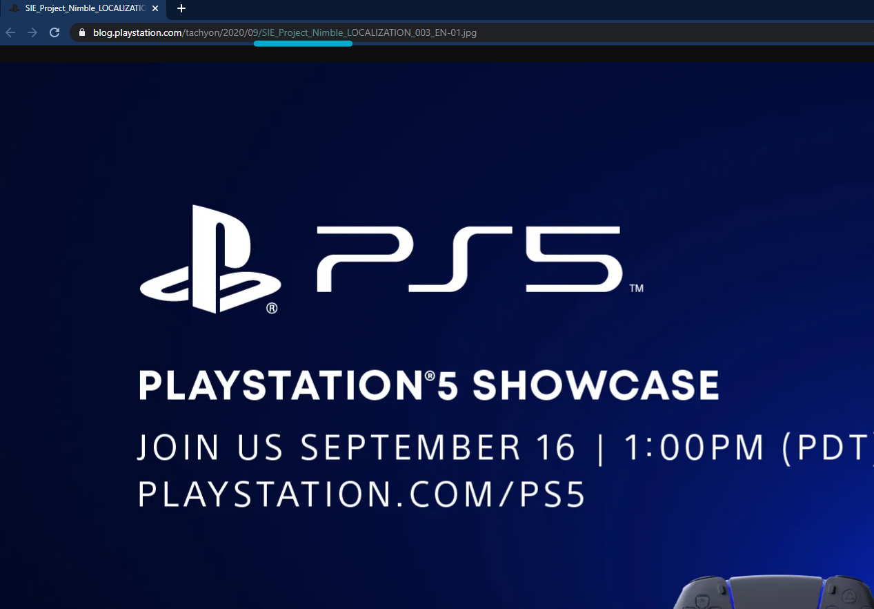 PlayStation 5 September Event