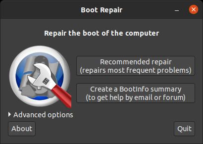 Ubuntu Boot-Repair