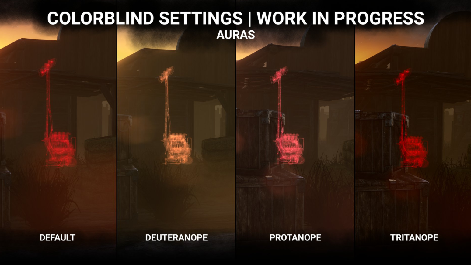 Colorblind Modes