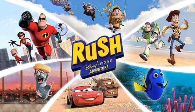 Rush: A Disney/Pixar Adventure