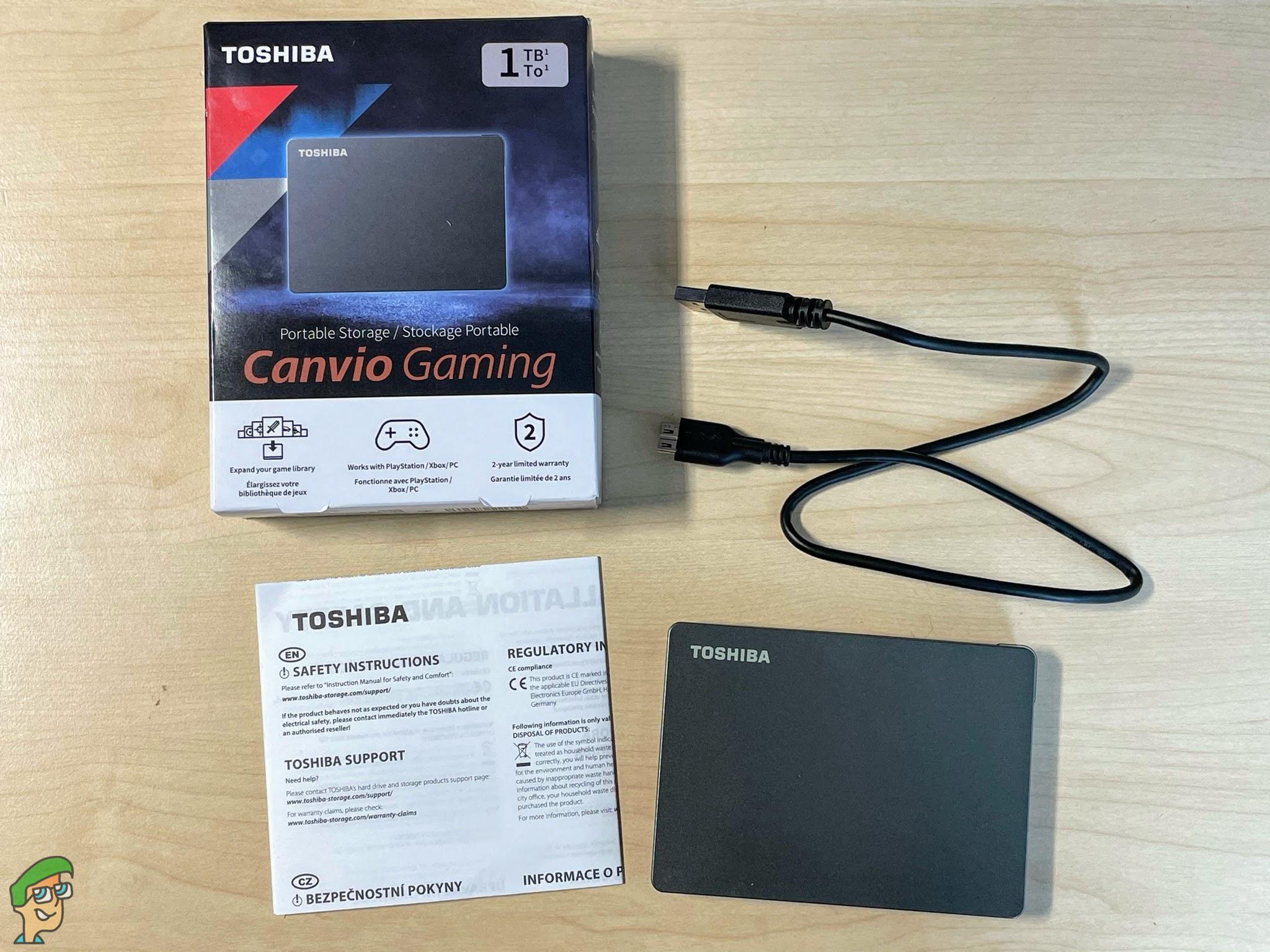 Toshiba Canvio Gaming