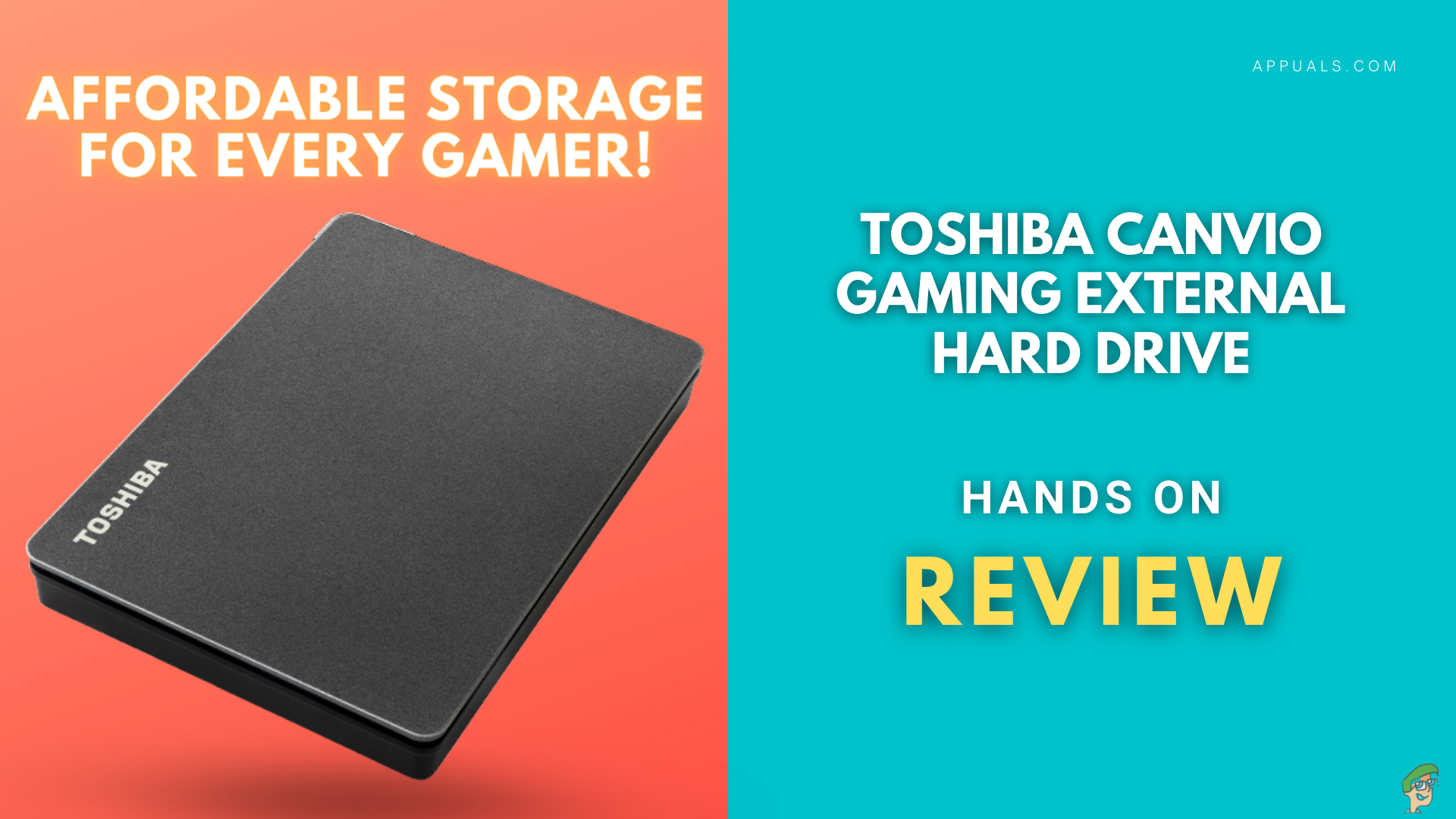 Toshiba Canvio Gaming Review