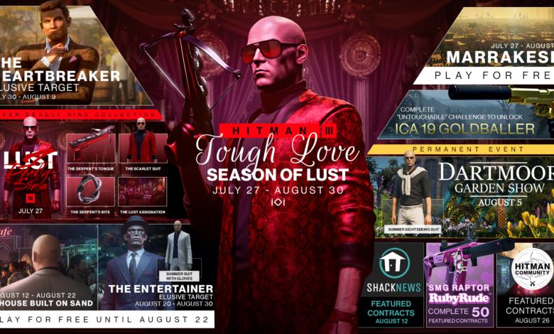 Hitman 3 Season of Lust